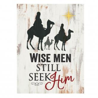 BHB 0201 Bordekor - Wise Men Still Seek Him (9 x 13 cm)
